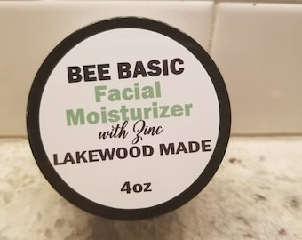 Organic Facial Moisturizer with Zinc Oxide Sun Protection