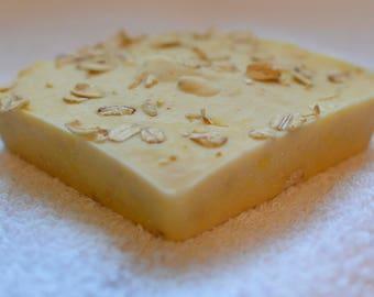 Handmade Soap made with Goat's Milk, Honey & Oatmeal