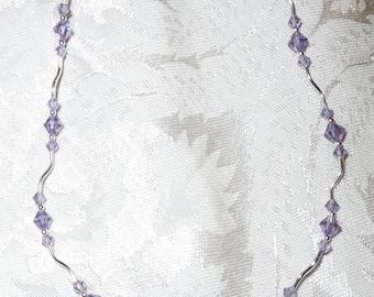Tanzanite Ice Necklace  Item #1045