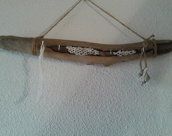 Key holder or jewelry in Driftwood