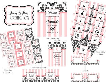 "PRINTABLE (FULL COLLECTION) - ""Pretty & Posh"" Collection"