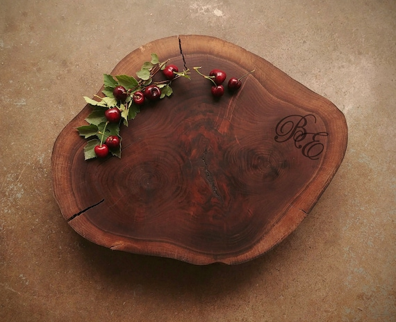 Extra Large Personalized Walnut Cutting Board