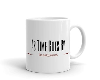 As Time Goes By Mug