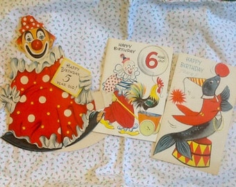 three wonderful and adorable cards