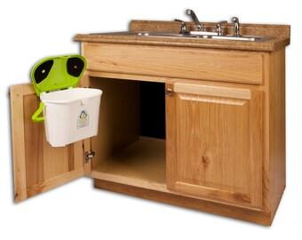 Superb Kitchen Compost Caddy Under Sink Compost System