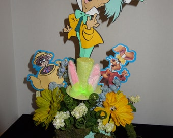 Mad Hatter Centerpiece