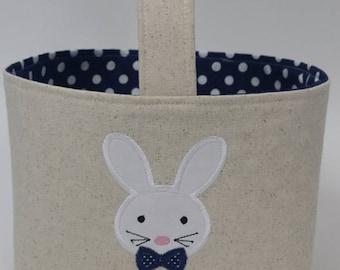 Personalized Easter Basket, Boy Easter Basket