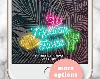 Fiesta Snapchat Filter, Snapchat Filter Birthday, Cinco de Mayo Wedding, Fiesta Geofilter, Snap Chat filter Fiesta, Snapchat Filter Wedding