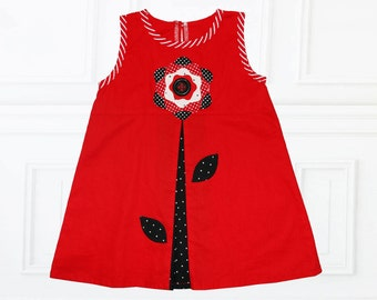 Girls Dress Pattern pdf, Girls Sewing Pattern, Childrens Sewing Pattern, Toddler Pattern, pdf Sewing Pattern, BELLA