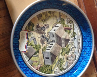 Vintage 1776-1976 Pabst Beer Serving Tray Pabst Blue Ribbon Beer Bicentennial