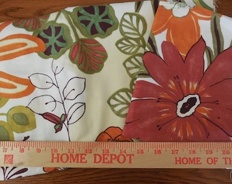 Destash- 2 Pieces Of Home Decor Weight Fabric Remnants