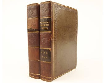 1828 Death Bed-Scenes and Pastoral Conversations by John Warton, D.D.
