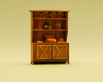 1/4 inch scale miniature-The Hampton Hutch