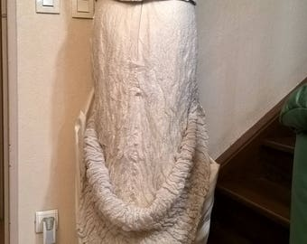 LINEA RAFFAELLI brand vintage wedding dress