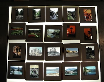 35mm slides from the United states and Europe, 1980's and 90'