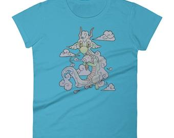 Women's Cloud-cream Dragon t-shirt