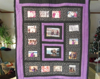 25-30 photo quilt made to order
