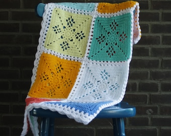 Spike Stitch Blanket Crochet Pattern Pdf Crochet Pattern