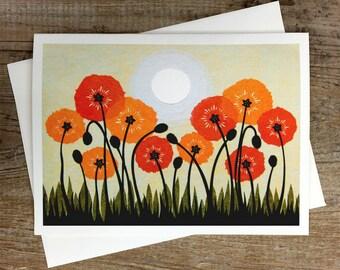 Sun Children - Greeting Card