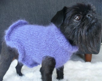 Dressed to Frill Mohair Ruffle Sweater - Pattern