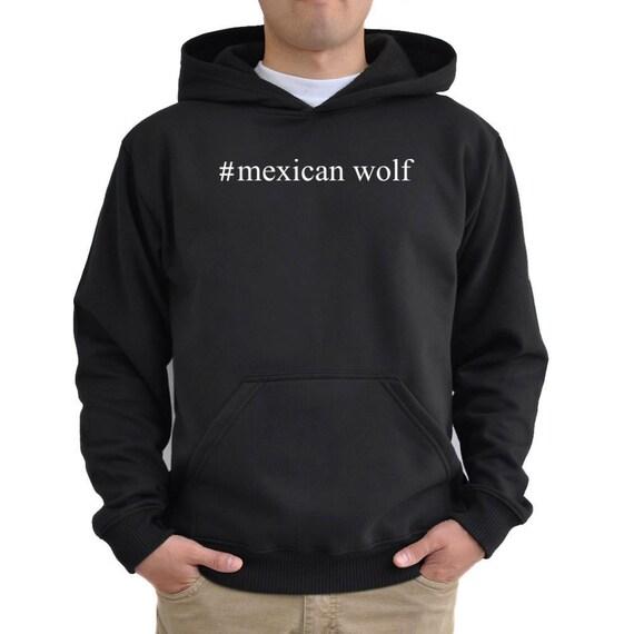 Mexican Wolf Hashtag Hoodie Ja7DfWbHGK