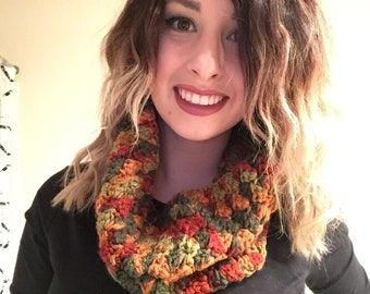 Cowl style scarf