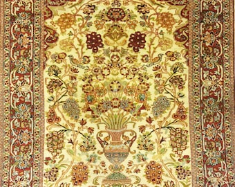 Carpet Tree of Agra Indian life 200 x 118 cm