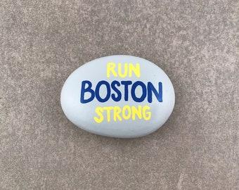 Charity Donation - Boston Children's Hospital - Run Boston Strong - Painted Rock
