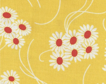 Katie Jump Rope by Denyse Schmidt for Free Spirit Fabrics - 1/2 yard cut - # PWDS108 Sunflower