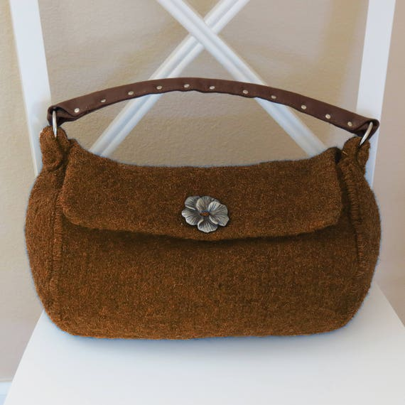 Knit Bag Pattern, Felted Purse Pattern, Felted Purse, Knitted Purse ...