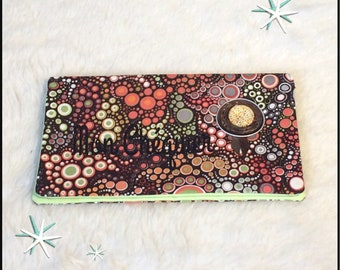 Cotton orange green yellow effervescence checkbook protected
