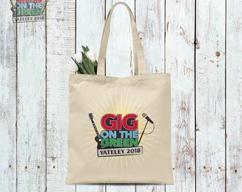 Official Gig On The Green 2018 Tote Bag