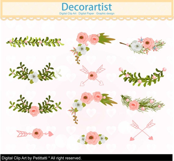 Wedding Decorations Page With Border