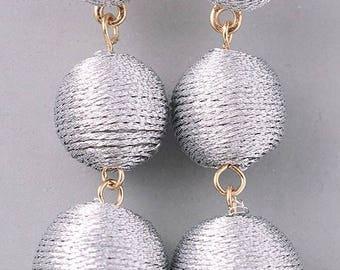 Bon Bon Dangle Statement Earrings