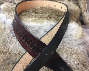 Leather gun sling (handtooled)