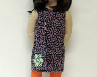 "A Girl for All Time® sized wrap dress for 16"" dolls"