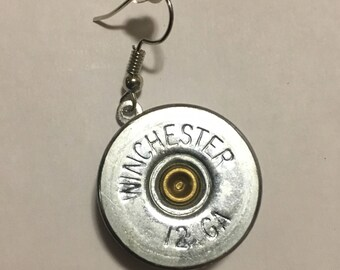 Shotgun shell earrings