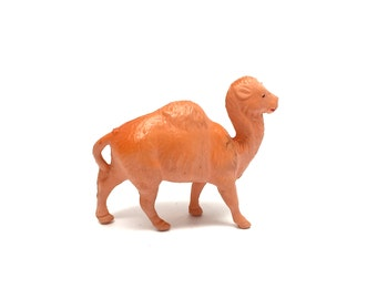 Vintage Celluloid Camel, Animal, Nativity,Zoo, Vintage Toys, Putz, Miniature, Clover Mark Japan, 1930