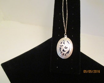 Silver Pendant with Silver Chain
