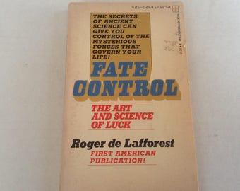 Fate Control. 1974 Edition.