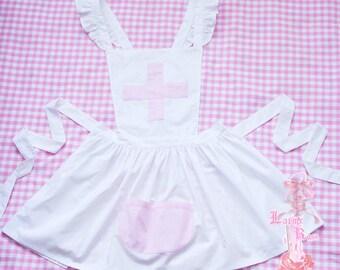 apron nurse pastel menhera