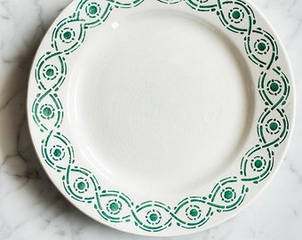 Antique French plate