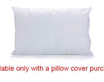 "Pillow insert, pillow filling, microfiber, for 15.7X21.6"" / 40X55 cm pillow cover, cushion filling, cushion insert"