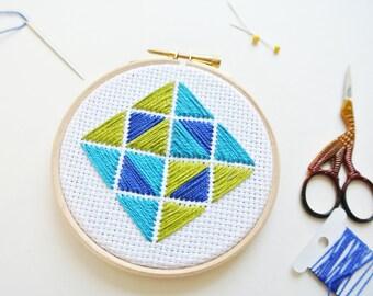 Embroidery Starter Kit / Hoop art for beginners