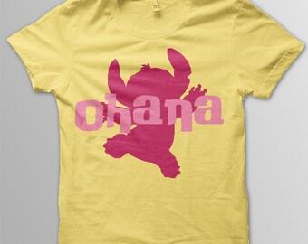 Disney shirt adult Lilo and Stitch Ohana shirt adult Disney t-shirt