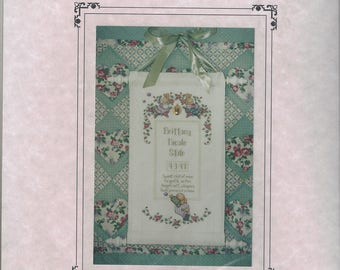 """Clearance - """"Sweet Child of Mine"""" counted cross stitch chart by Lorri Birmingham Designs Includes Locket Charm"""