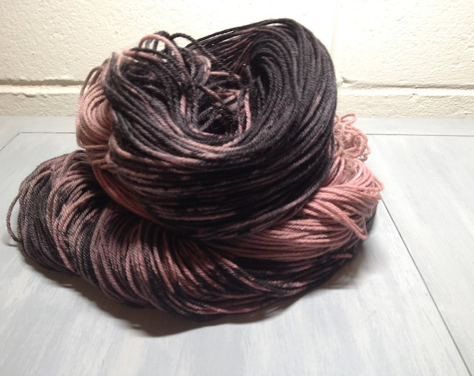 Steampunk Love - Dyed Fingering Weight Superwash Yarn - SOCKS! OOAK