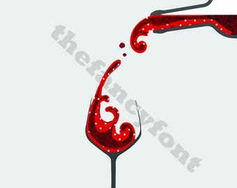 Happiness is...a glass of good wine