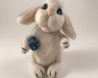 Felted Easter Bunny!