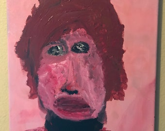 Bob Dylan Acrylic Abstract Painting